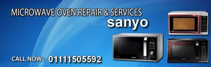 sanyo microwave oven maintenance center